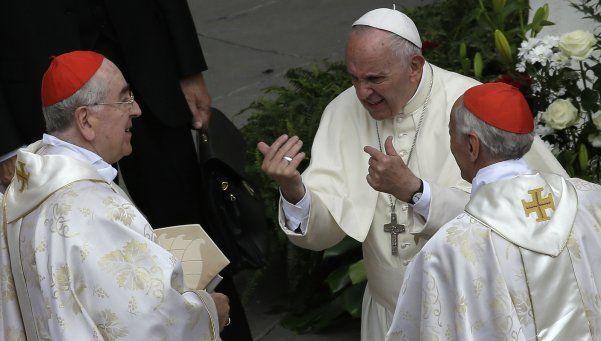 """El Papa instó a jueces a rechazar la """"telaraña"""" de la corrupción"""