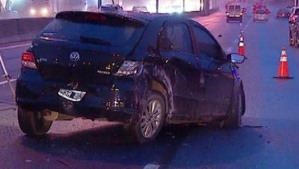 Tragedia en Panamericana: se le quedó el auto, pidió ayuda y lo atropellaron