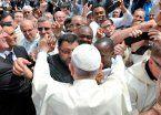 El Papa reclamó que la trata se juzgue como delito de lesa humanidad
