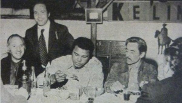 El día que Muhammad Alí comió un choripán en Lanús