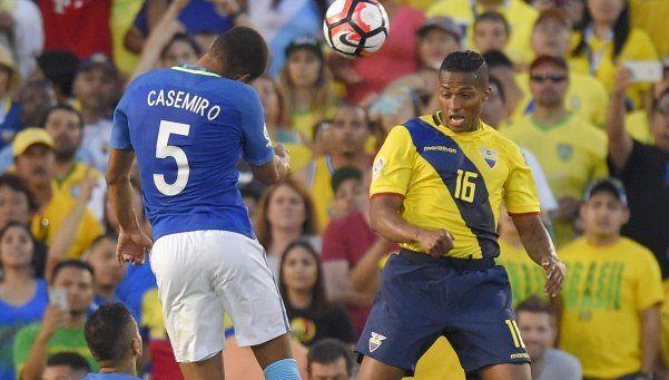 Brasil y Ecuador, un empate sin goles y con polémica