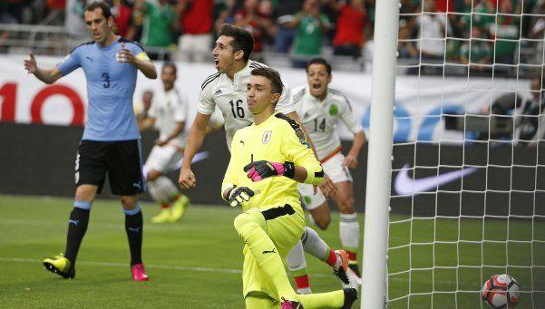 México venció a Uruguay en el mejor partido de la Copa