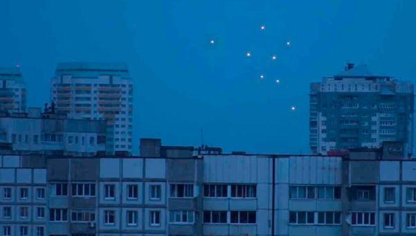 Flota de OVNIS invade Bielorrusia