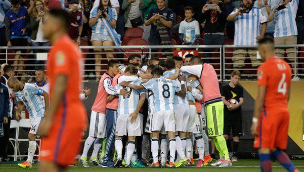 Las estadísticas y curiosidades de la victoria de Argentina ante Chile