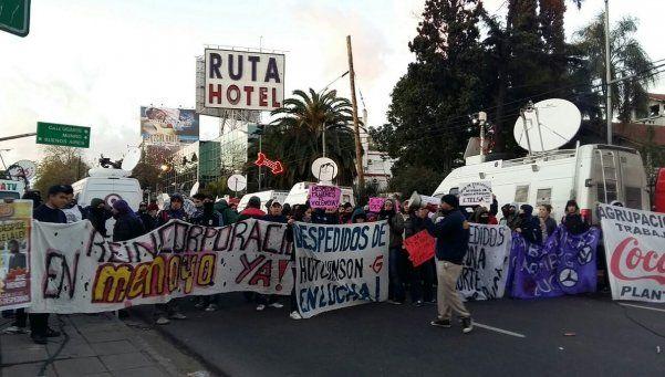 Protestas múltiples en la Panamericana