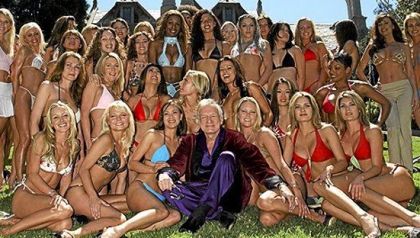 Hefner  vendió la mansión Playboy por 200 millones de dólares