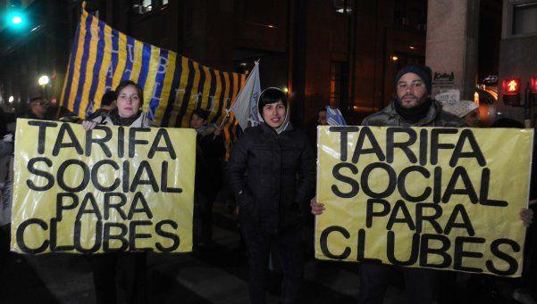 Tarifazo: dictan cautelar a favor de seis clubes de barrio