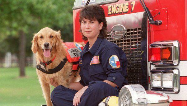 Murió la última perra rescatista que estuvo en el 11 de septiembre