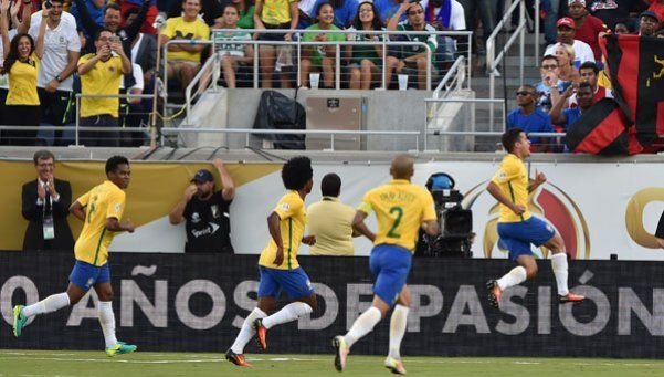 La revancha: Brasil le ganó ¡7-1! a Haití, que de Alemania no tuvo nada
