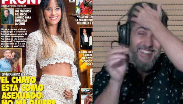 """Lourdes Sánchez le reclamó más sexo al """"Chato"""" Prada"""