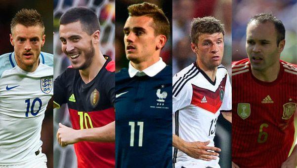 Arranca la Eurocopa: las 5 figuras que buscan el título