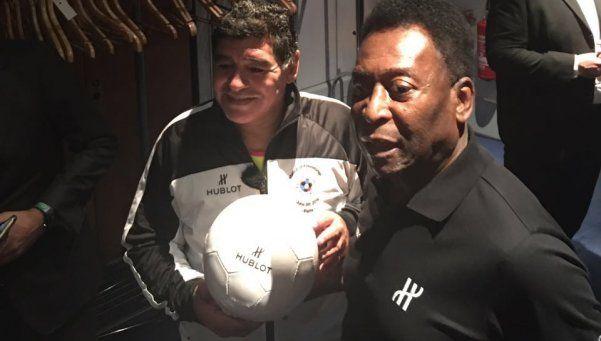 Exclusivo | Diego, feliz de haber acercado a Pelé a la familia de los jugadores