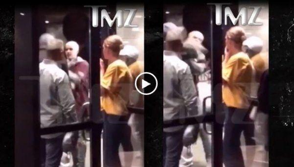 Video: Justin Bieber cobró en una pelea callejera en Cleveland