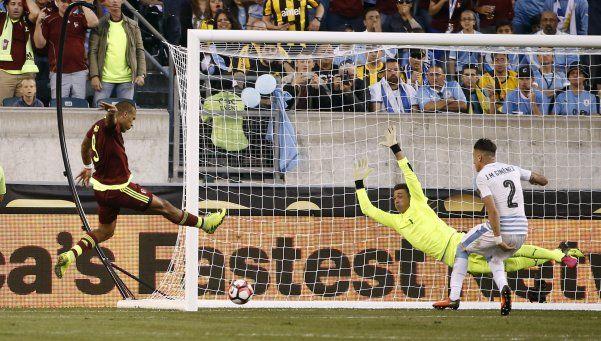 Uruguay quedó rápidamente afuera de la Copa América