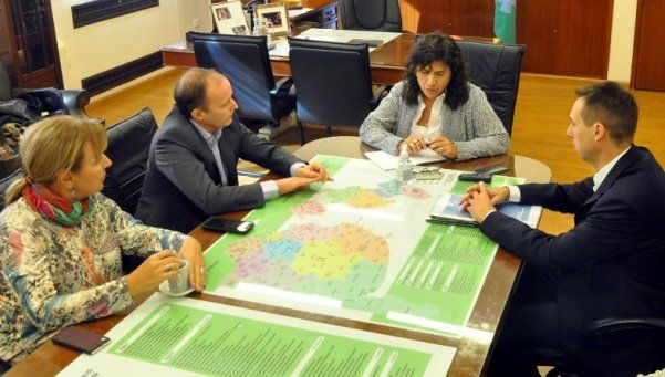 Lomas y Echeverría ya trabajan para implementar el SAME local