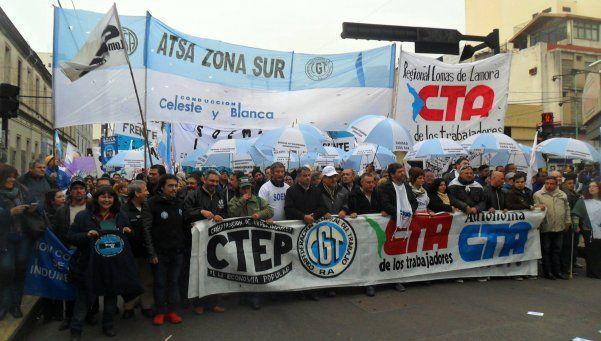 Germen de la unidad sindical crece desde Lomas de Zamora