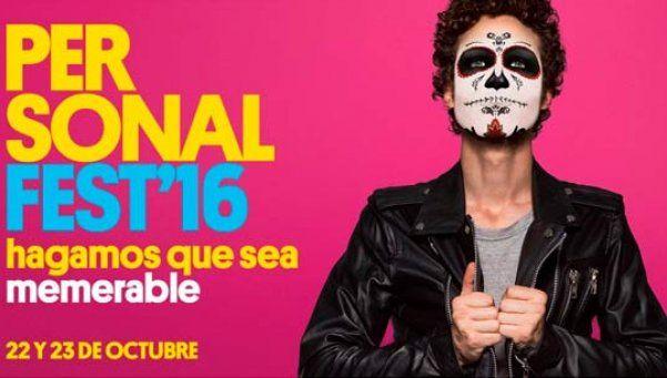 Calamaro y No Te Va Gustar encabezan el line up del Personal Fest 2016