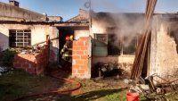Tres hermanitos murieron al incendiarse una vivienda