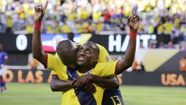 Ecuador hizo lo suyo: arrolló a Haití y se clasificó