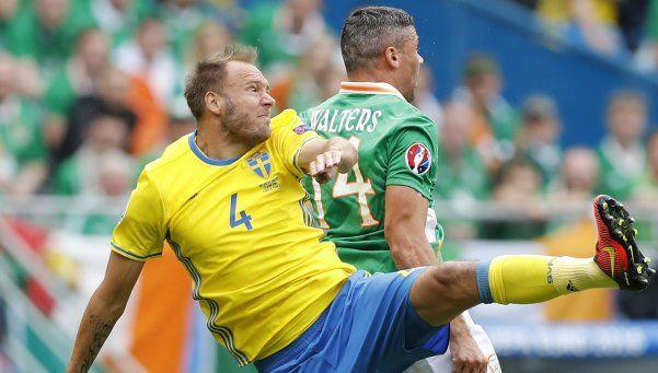 Irlanda no sostuvo el resultado y Suecia cosechó un empate