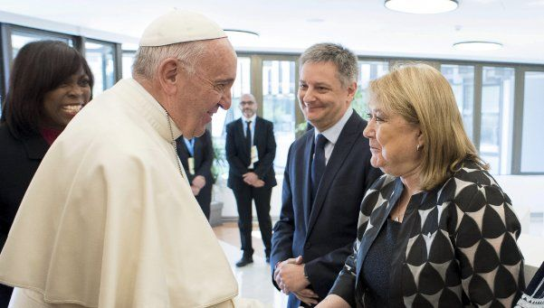 """Malcorra: """"La reunión con el Papa fue  muy buena y enriquecedora"""""""