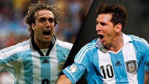 ¿Por qué Messi alcanzó a Batistuta con 54 goles?