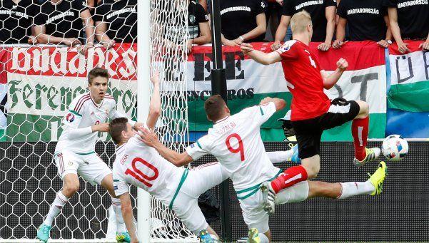 Hungría derrotó a Austria en el retorno de ambos a la Eurocopa