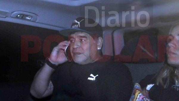 Exclusivo | Maradona: No vengo a cortarle la cabeza a nadie