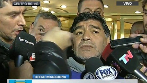 Maradona pega un portazo y se desliga de su rol en FIFA