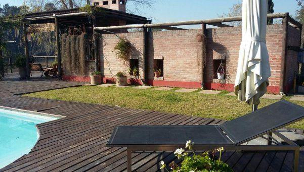 Así es la casa de José López en Tigre que fue allanada por la Policía