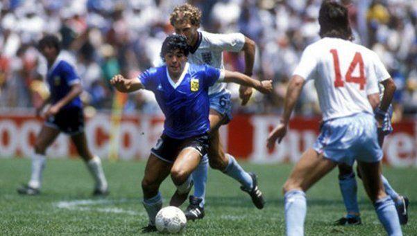 Las mejores narraciones del día que Maradona pintó su obra de arte