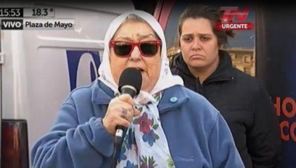 Bonafini no irá a declarar y podría ser llevada por la fuerza pública