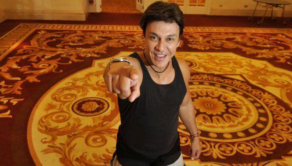 Beto Pérez bailó con DIARIO POPULAR antes de su Fitness Concert