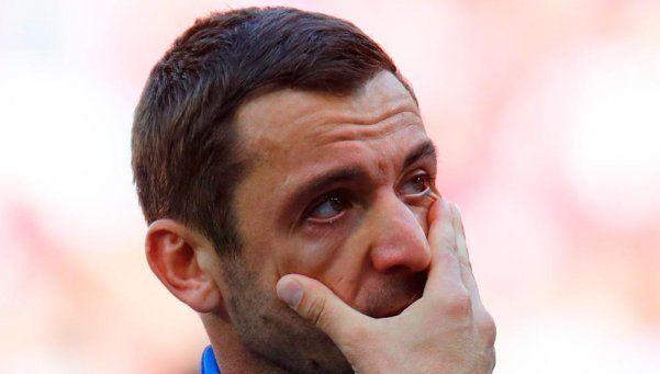 Video | El jugador croata que rompió en llanto durante el himno
