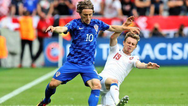 República Checa sumó un agónico empate ante Croacia