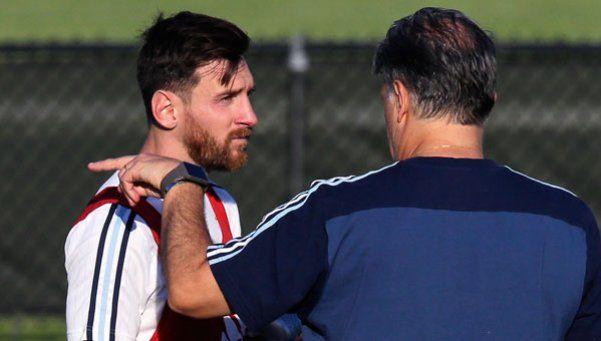 Martino: Messi seguramente va a estar desde el arranque
