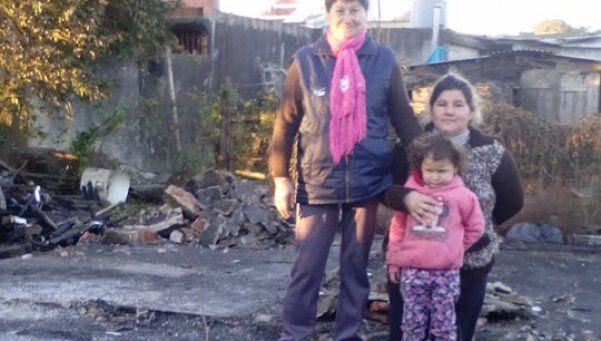 Abuela heroína salvó a su hija y a su pequeña nieta en Florencio Varela