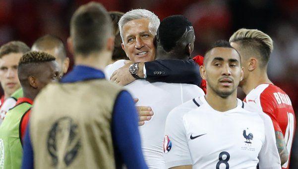 Francia y Suiza jugaron a no perder y se fueron contentos