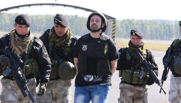 La extradición de Pérez Corradi ya está en marcha