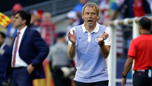 Klinsmann: No vamos a meter a diez jugadores en nuestra área