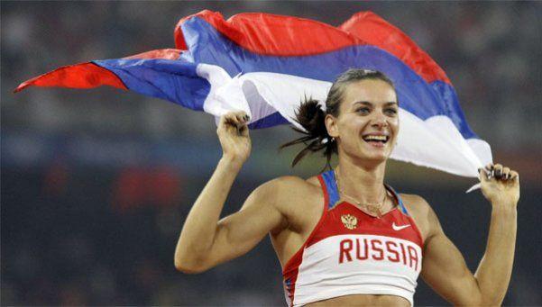 Por la sanción a Rusia, Isinbayeva se niega a competir en Río 2016