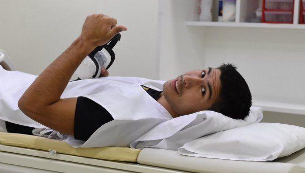 Luciano Lollo ya se hizo la revisión médica para incorporarse a River