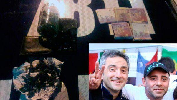 Detuvieron a un puntero kirchnerista con droga en Lugano