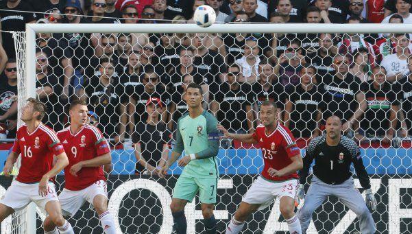 Cristiano Ronaldo apareció a tiempo y salvó a Portugal