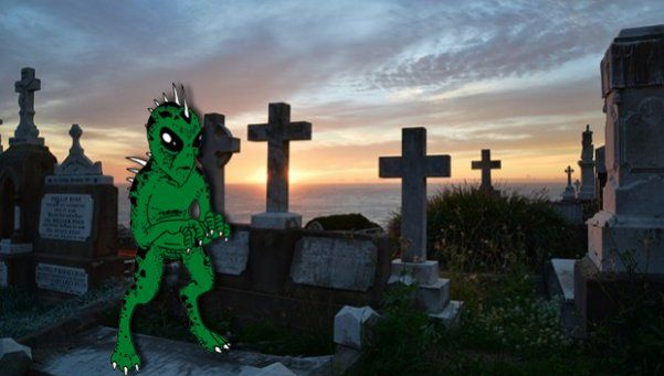 Chupacabras atormenta en inmediaciones de cementerio