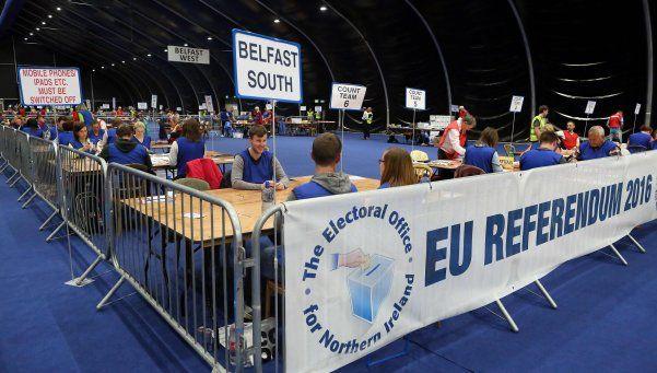 """Reino Unido: ganó el """"Brexit"""" y el país abandona la Unión Europea"""