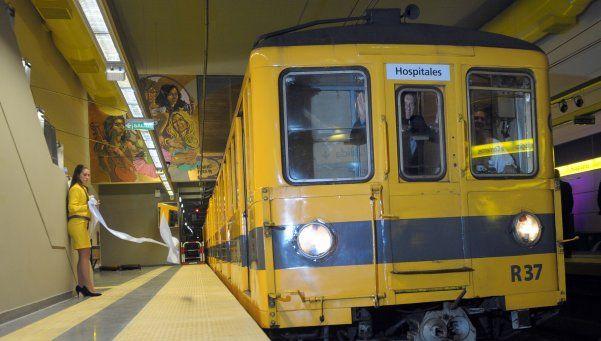 Desde el lunes, la línea H de subtes dejará de operar por una semana