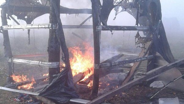 Violento desalojo en asentamiento de Esteban Echeverría