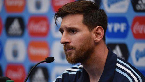 Messi: Me gustaría que la AFA fuera lo que la Selección necesita