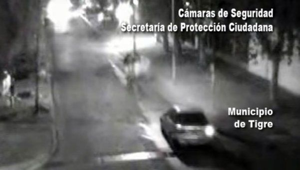 Video | Conductor borracho atropelló a cuatro personas en Tigre